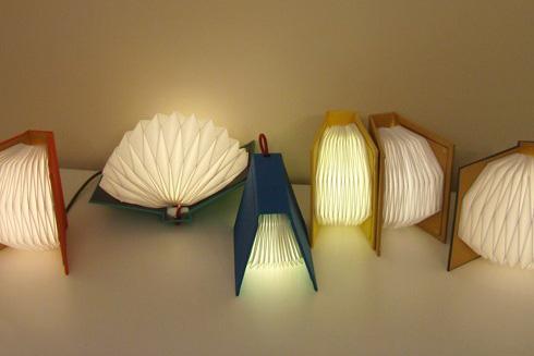 Más libros lámpara