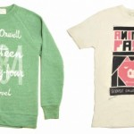 Camiseta y sudadera de George Orwell