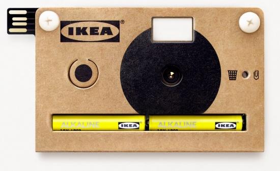 Cámara de fotos Knappa de Ikea