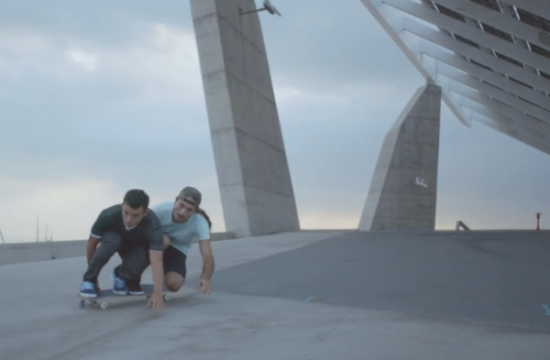 Smart tandem skate video
