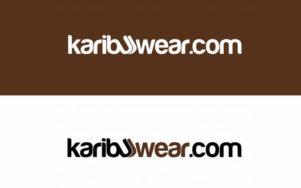 Diseño de marca Karibu para equipamientos de ropa