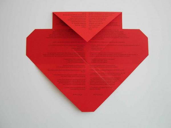 Folleto Cartas de Amor