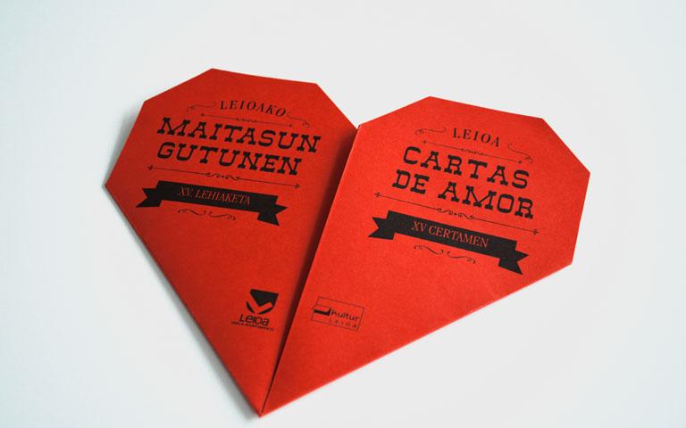 Folleto Cartas De Amor Para Kultur Leioa