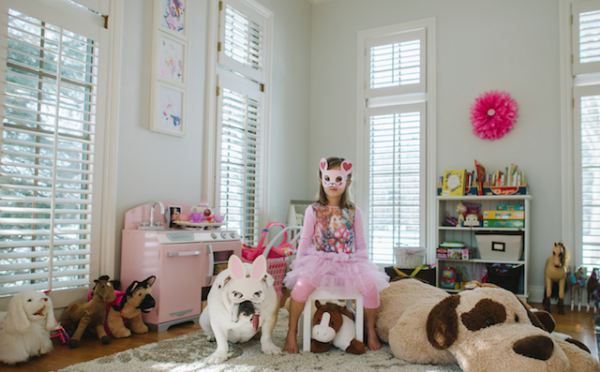 La vida según una niña y su perrita