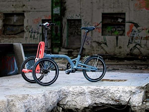 Bicicletas urbanas para llevar de todo