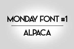 Monday font