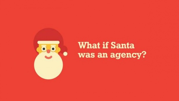 santa was an agency