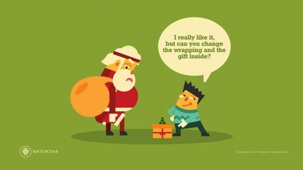 Santa trabaja en esta agencia
