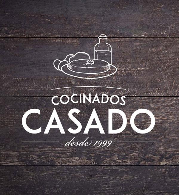 Logotipo para la marca de Cocinados Casado