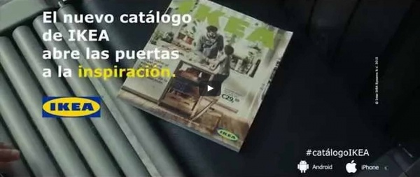 Cartero comercial Ikea video