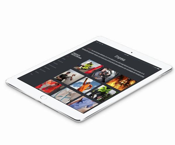 visualización en ipad karibuwear.com