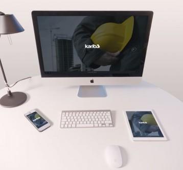 Desarrollo web responsive para karibuwear.com