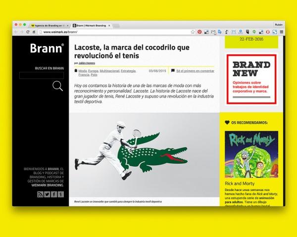 Brann website