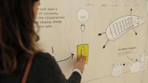 Animaciones interactivas para involucrar al usuario a compartir contenidos