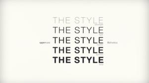 Tipografía cinética o como pasar del papel a la pantalla