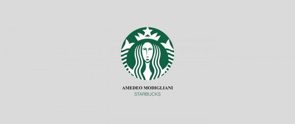 Logotipos de marcas por artistas
