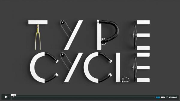 Type Cycle tipografía video