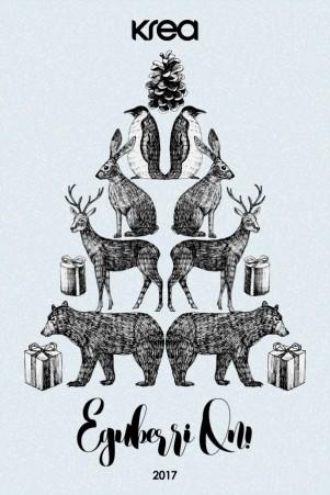 La Navidad según krea