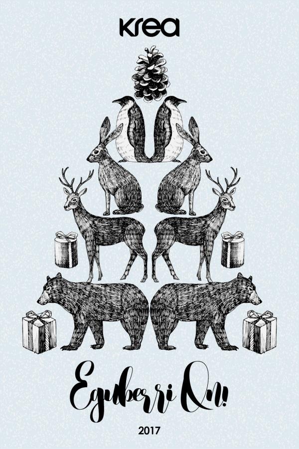 Felicitación Navidad krea