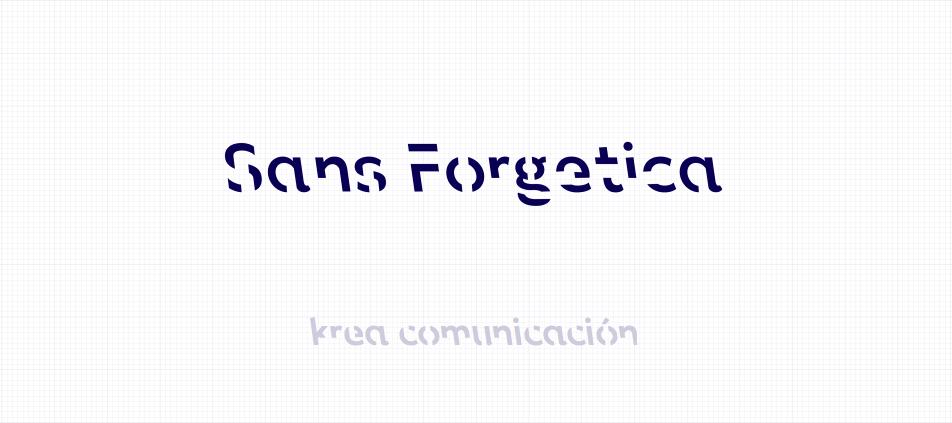 sans forgetica tipografía diseñada con psicología